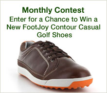 Enter for a Chance to New FootJoy Contour Casual Golf Shoes