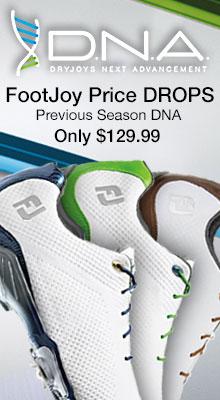 Price Drop on FootJoy Previous Season DNA - Now Only $129.99