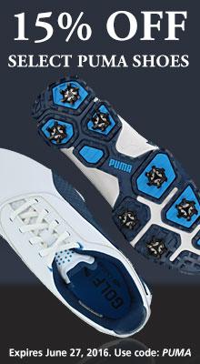 15% Off Select Puma Shoes