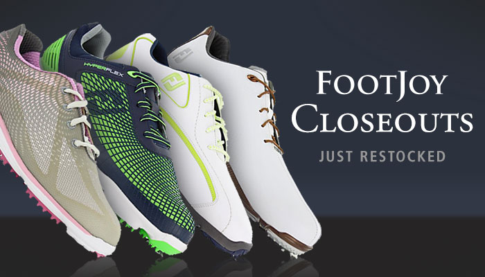 FootJoy Closeouts - Just Restocked