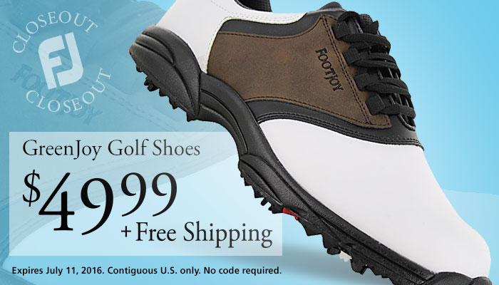 FootJoy GreenJoys Now $49.99 + Free Shipping