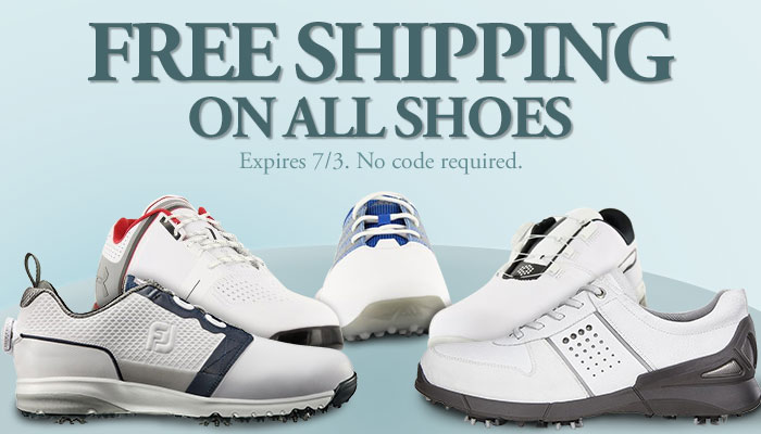 Free Shipping On All Shoes