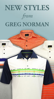 New Styles from Greg Norman