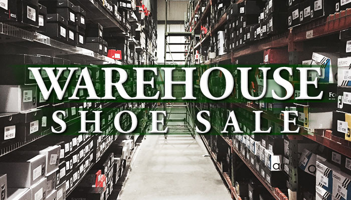 Warehouse Shoe Sale