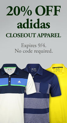 20% Off adidas Closeout Apparel