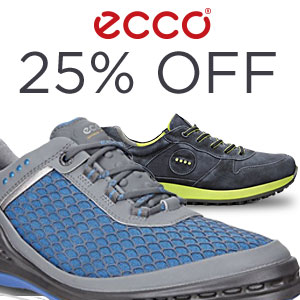 25% Off Select ECCO Golf Shoes