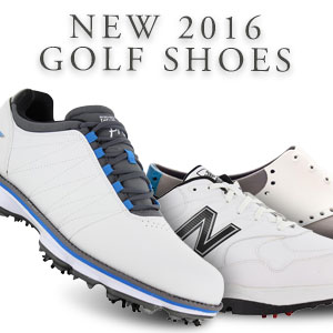 New 2016 Golf Shoes From Top Brands